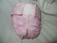 Female Dog Puppy Pet Diaper Washable Pant Sanitary Underwear Pink BUTTERFLY XXXS
