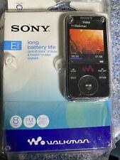 Sony Walkman NWZ-S638F 8GB Multi Media MP3 Player AC-NWUM50 Hi-Res Audio Set