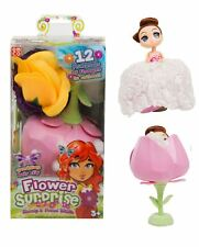 """1x 7"""" Magical Flower Surprise Princess Scented Cupcake Doll Girls Christmas Toys"""