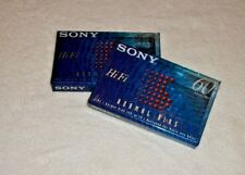 Set Of 2 Sony C60HFB Single 60-minute Type 1 Normal Bias Audio Cassette Tape