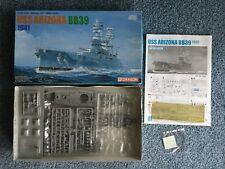 Dragon 1/700 USS Arizona BB39 1941 model kit #7040