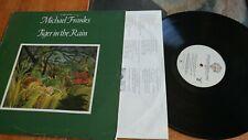 MICHAEL FRANKS Tiger In The Rain LP (Warner Bros, 1979) w/ inner Jazz