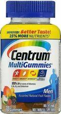 Centrum Men's Multivitamin Supplement 70 Count Gummies - EXPIRES 12/2020 -