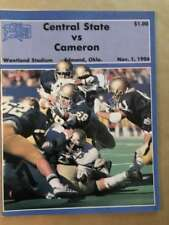 CAMERON COLLEGE @ CENTRAL STATE UNIVERSITY COLLEGE FOOTBALL PROGRAM  1986 EX
