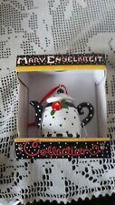 Mary Engelbreit Polka Dot Teapot Ornament Nib