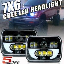 DOT 7x6'' 5x7 LED Headlights DRL Projector Beam for Toyota Tacoma Tundra 4Runner