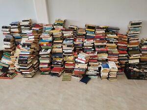 Lotto scatola box 50 libri romanzi narrativa e vari possibile scelta generi
