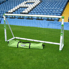 Sabre 8ft x 4ft Kids Football Goal for the Garden - Ages 3-7 Years