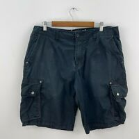 Mossimo Supply Co. Men's Black Casual Cargo Shorts Size 36