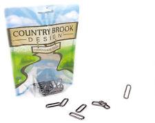 10 - Country Brook Design® 1 Inch Gunmetal Rectangle Metal Keeper