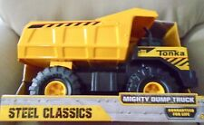 NEW  LARGE   TONKA  CLASSIC  MIGHTY  STEEL   DUMP  TRUCK