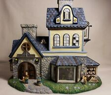 PartyLite P7315 Olde World Village Candle Shoppe - Mint in box - unused