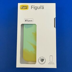 OtterBox Figura Series Case with MagSafe for iPhone 12 / 12 Pro Green/Yellow