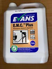 Evans Vanodine EMC PLUS 5 Litres all purpose cleaner & degreaser