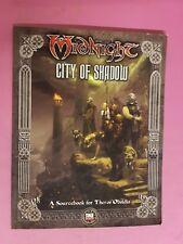 Midnight-ciudad De Sombras-RPG Fantasy Flight 3.5 DND Gaceta Juego de Rol D&D