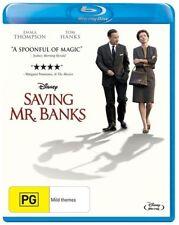 Saving Mr. Banks (Blu-ray, 2014) Tom Hanks Brand New Sealed Free Postage 🇦🇺