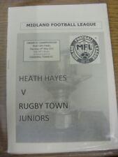 14/05/2015 MIDLAND LEAGUE CAMPIONATO U21 play-off finale: Heath Hayes U21 V Rug