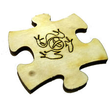 Jigsaw Piece (Travel Bug) For Geocaching - Trackable Jigsaw Piece - Unactivated