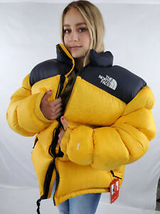 NWT North Face Nuptse 700 Down Jacket XXXL Overfilled Overstuffed Rare Yellow