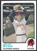 1973 Topps Nolan Ryan Vintage Baseball Card #220 California Angels HOF - EX-MT!