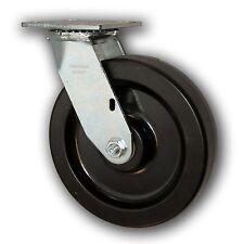 """8"""" x 2"""" Heavy Duty Swivel Caster w/ Phenolic Wheel 1250#"""