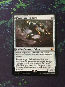 MTG, Phyrexian Triniform. Commander Legends Mythic Rare NM