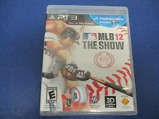 PlayStation 3, MLB 12 The Show,  Rated E, So Real It's Unreal! Playstation Move