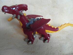 LEGO DUPLO DRACHEN FÜR RITTERBURG ca 28cm groß K6
