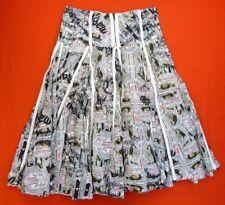 DESIGUAL Jupe Taille 34 FR - Blanche avec motifs