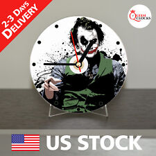 NEW Joker Batman CD Clock - Unique Decor Idea for Home USA