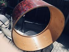 """More details for vintage premier marching bass drum 32"""" inch project refurb"""