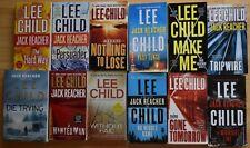 Lee Child, Lot of 12 Jack Reacher Novels, PC/GC
