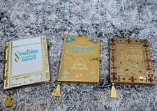Disney Classic Princess StoryBook Journal Set Cinderella Snow White Sleeping New