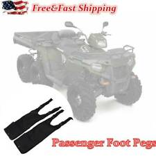 1 Pair Atv Footrest Rear Passenger Foot Pegs for Polaris Sportsman Step Grap