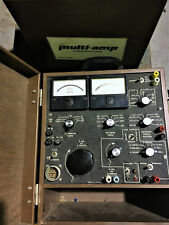 AMP TEST EQUIPMENT MULTI AMP (3) UNITS EXCELLENT CONDITION MODEL SR76A