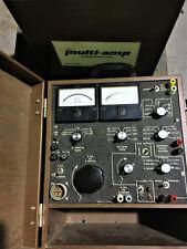 Amp Test Equipment Multi Amp 3 Units Excellent Condition Model Sr76a