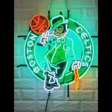 "Boston Celtics Neon Light Sign 24"" Hd Vivid Printing Technology"
