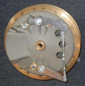 Fontana MAGNESIUM 210mm front brake hub assembly small scoop Menani Racing Italy