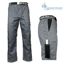 Arbeitshose Bundhose Berufsbekleidung Arbeitskleidung Grau Gr. 46 - 62 NEU TOP