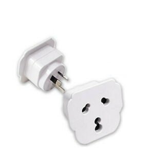 Sansai Travel Adapter Both small and Large Pins For Indian Appliance