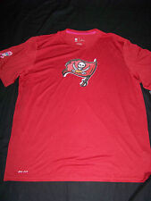 Nike DriFit Men's Tampa Bay Buccaneers Breast Cancer Awareness Shirt NWT Large