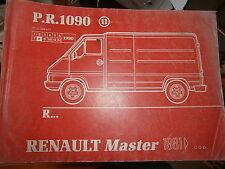 Renault MASTER traction : catalogue pièces PR1090-11