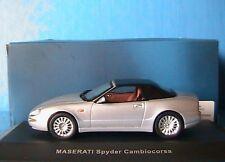MASERATI SPYDER CAMBIOCORSA 2003 IXO MOC035 SILVER 1/43