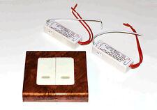 Kit di batteria Tutti i colori LED MULTIUSO 12V Interruttore 5mm connettore PP3