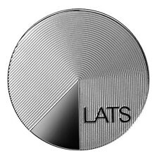 LATVIA 2013 silver lats coin of timing and nature of the time coded conundrums