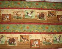 Wilmington Prints RUSTIC Retreat Wilderness Park 4607 100% Cotton 44in Wide SBY