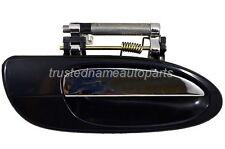 fits Nissan Outside Exterior Door Handle Rear Right Passenger Black Chrome Lever