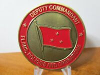 USMC Deputy Commander Plans Policies and Operations Challenge Coin #293B