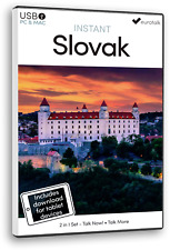 Eurotalk Instant Slovak 2 Product Set - Usb and Talk Now tablet download
