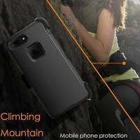 For Apple iPhone Case Cover Black Heavy Duty Armor / Belt Clip Holster / Hybrid